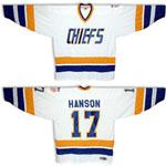 Charlestown Chiefs Steve Hanson Home Jersey