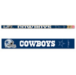 Wincraft Dallas Cowboys 6 Pack Pencils