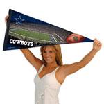 Wincraft Dallas Cowboys Premium Felt Stadium Pennant