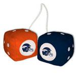Fremont Die Denver Broncos Fuzzy Dice
