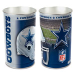 Wincraft Dallas Cowboys Metal Garbage Can