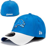New Era Detroit Lions TD Classic 39THIRTY Stretch Fit Hat