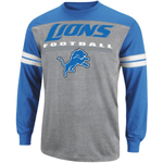 VF Imagewear Detroit Lions End of Line IV Long Sleeve T-Shirt