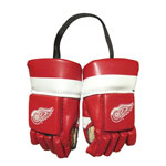 Kloz Detroit Red Wings Mini Hockey Gloves