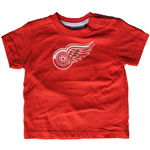 Mighty Mac Detroit Red Wings Toddler Logo T-Shirt