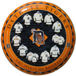 Hunter Manufacturing Detroit Tigers Ceramic Collector Plate