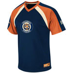 Detroit Tigers Cooperstown Fireballer V-Neck T-Shirt by Majestic