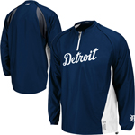Majestic Detroit Tigers On-Field Cool Base Triple Peak Gamer Jacket