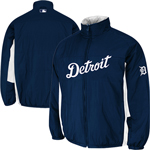 Majestic Detroit Tigers On-Field Double Climate Full Zip Jacket
