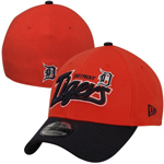 New Era Detroit Tigers Two-Toned Tail Swoop Classic 39THIRTY Stretch Fit Hat