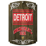 Wincraft Detroit Red Wings Vintage Wood Sign