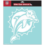 Wincraft Miami Dolphins 8''x8'' Die Cut Decal