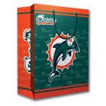 Pro Specialties Group Miami Dolphins Large Gift Bag