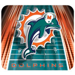 Hunter Manufacturing Miami Dolphins Mouse Pad
