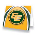 Hunter Edmonton Eskimos Greeting Card