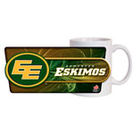 Hunter Edmonton Eskimos 11oz. Sublimated Coffee Mug