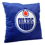 Forever Collectibles Edmonton Oilers 16''x16'' Square Plush Pillow