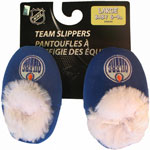 Forever Collectibles Edmonton Oilers Baby Bootie Slippers
