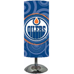 IAX Sports Edmonton Oilers Cylinder Desk Lamp