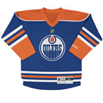 Reebok Edmonton Oilers Infant (12 to 24 months) Replica Home NHL Hockey Jersey