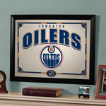 The Memory Company Edmonton Oilers Framed Mirror