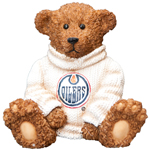 Edmonton Oilers Powerplay Teddy Bear Figurine by Elby Gifts