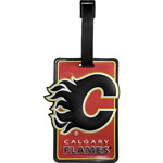 JF Sports Calgary Flames Luggage Tag