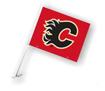 Fremont Die Calgary Flames Double Sided Car Flag