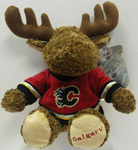 Calgary Flames Jersey Moose Plush