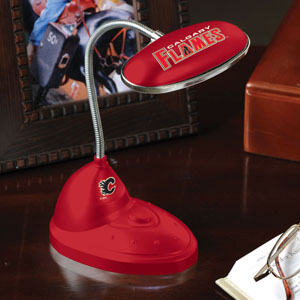The Memory Company Calgary Flames LED Desk Lamp