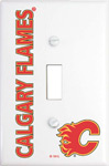 IAX Sports Calgary Flames Single Light Switch Cover