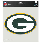 Wincraft Green Bay Packers 8''x8'' Color Die Cut Decal