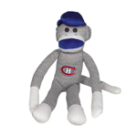Montreal Canadiens 20'' Plush Sock Monkey by Forever Collectibles