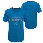 Detroit Lions Youth Certified Ultra T-Shirt by Outerstuff