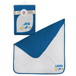 Detroit Lions 2-Ply Reversible Receiving Blanket by Outerstuff