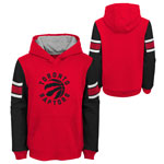 Toronto Raptors Youth Block Action Pullover Fleece Hoodie by Outerstuff