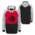 Toronto Raptors Youth Regulator 1/4 Zip Pullover Fleece Hoodie by Outerstuff