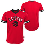 Toronto Raptors Youth Fashion V-Neck Jersey Top by Outerstuff