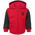 Toronto Raptors Infant Arena Full-Zip Fleece Hoodie by Outerstuff