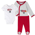 Toronto Raptors Newborn Future Champ Bodysuit, Shirt, and Pants Set by Outerstuff