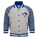 Toronto Blue Jays Toddler Game Pride Full-Snap Varsity Jacket by Outerstuff