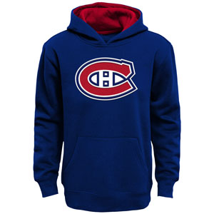 Montreal Canadiens Youth Prime Basic Pullover Fleece Hoodie by Outerstuff