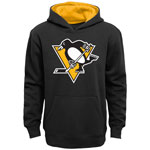 Pittsburgh Penguins Youth Prime Basic Pullover Fleece Hoodie by Outerstuff