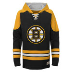 Boston Bruins Youth Legendary Pullover Fleece Hoodie by Outerstuff