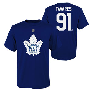 John Tavares Toronto Maple Leafs Youth Player Name and Number T-Shirt by Outerstuff