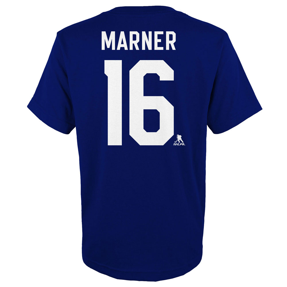 Mitch Marner Toronto Maple Leafs Youth Player Name and Number T-Shirt by Outerstuff