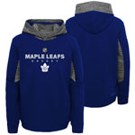 Toronto Maple Leafs Youth Hyper Physical Pullover Dri-Tek Hoodie by Outerstuff