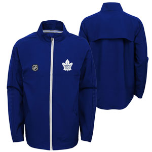 Toronto Maple Leafs Youth Prevail Lightweight Full-Zip Jacket by Outerstuff