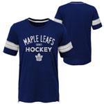 Toronto Maple Leafs Youth Essential Slub T-Shirt by Outerstuff