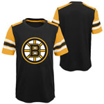 Boston Bruins Youth Crashing the Net T-Shirt by Outerstuff